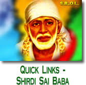 Shirdi Sai Baba Quick Links - shirdi