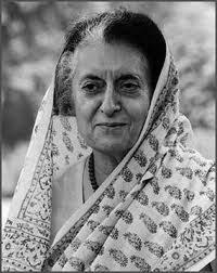 Indira Priyadarshini Gandhi - indira
