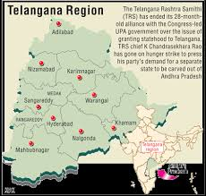 What Telangana state will look