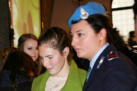 Deanna Knox and Amanda Knox - The Meredith Kercher Trial Draws To A