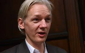 Julian Assange, pictured in - Julian-assange-1