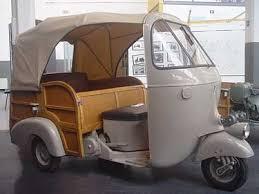 1956 Ape AC Calessino.