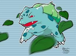 Tu primer pokemon ;D y tus viajes Bulbasaur