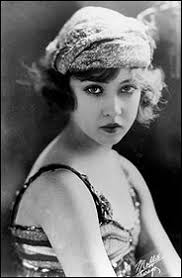 a teenage Ziegfeld girl.