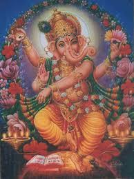 El dios Ganesh que aparece en el CC de La Villa en la página de la exposición mencionada en la nota