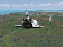 Nicks Space Shuttle Landing