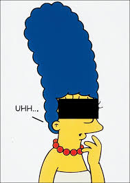 Marge Simpson in.Playboy!