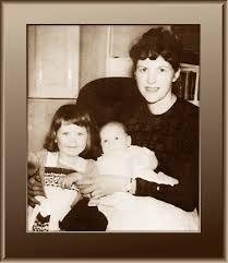 Sylvia with Nicholas and Frieda