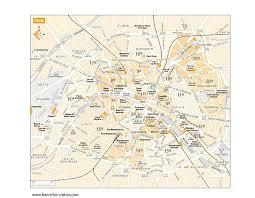 duża mapa Paryż