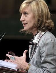 Rosa Díez, en el Congreso de los Diputados