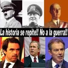 Aznar desoyó el clamor popular en contra de la guerra de Iraq