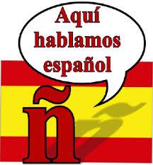 Cartel reivindicativo del español (o castellano)