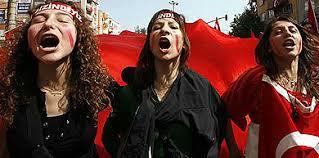 Las feministas turcas se movilizan