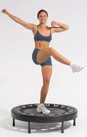 effortless exercise using a rebounder