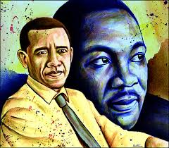 Barack Obama & Martin Luther King