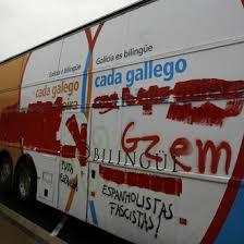 'Vivir en galego, vivir en español, vivir en LIBERTAD'