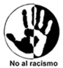 Logo contrario al racismo