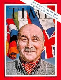 Jean Monnet en la portada de 'Time'